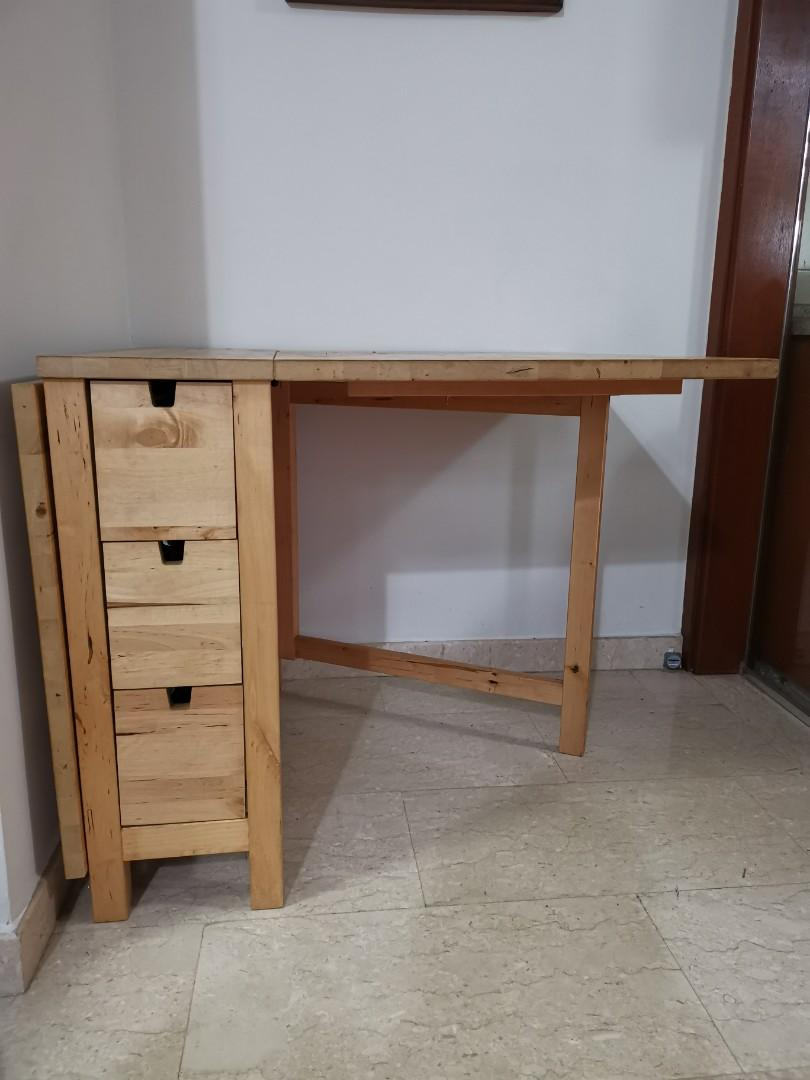 Norden Gateleg Table Ikea Furniture Tables Chairs On Carousell