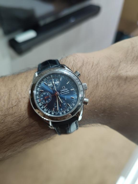 Omega Speedmaster Day Date Blue Dial (Chronograph) 3523.80.00
