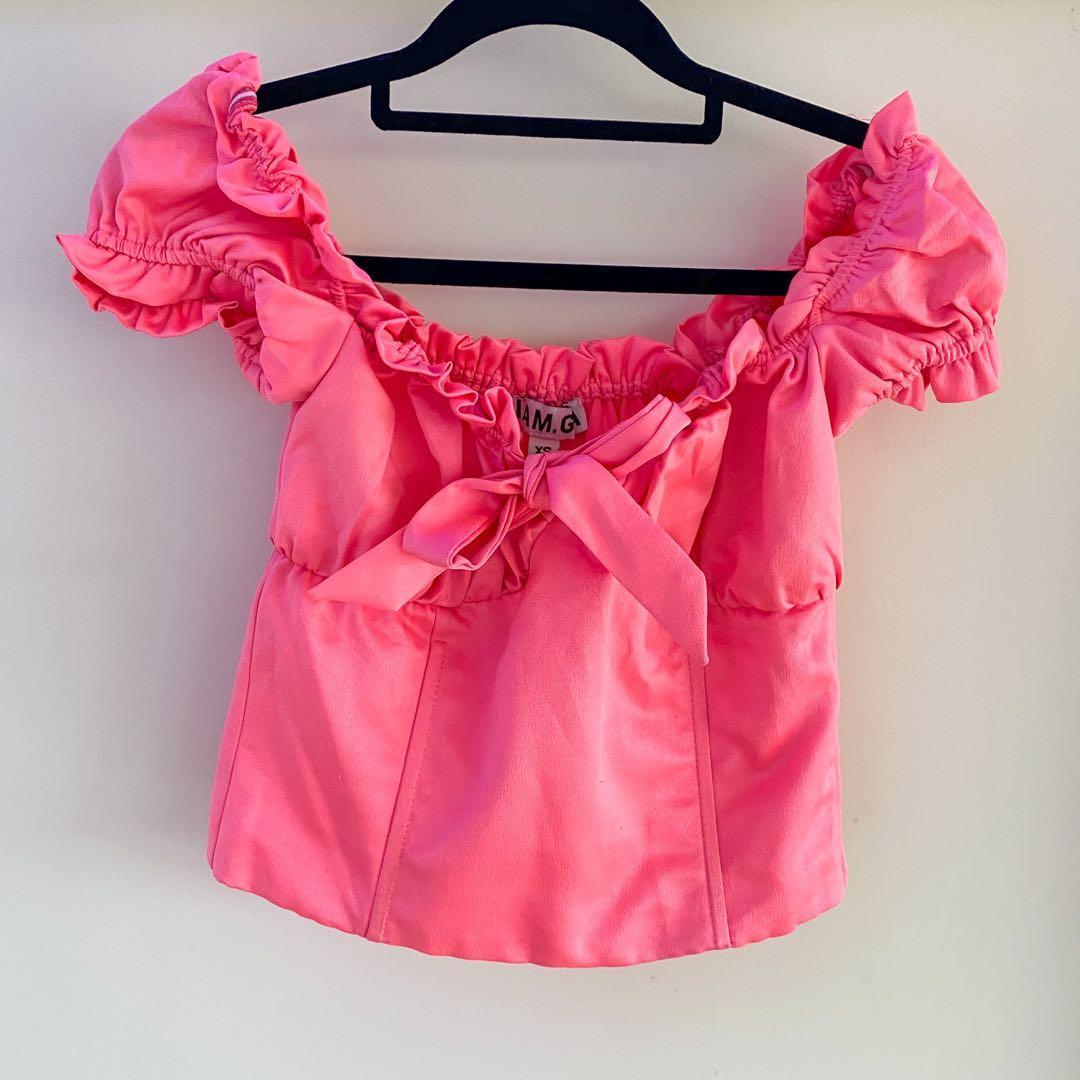 Pink I AM GIA Naomi Top