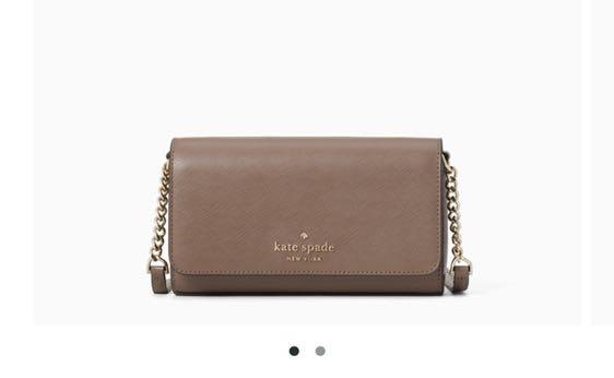 PO: Kate spade staci small flap crossbody