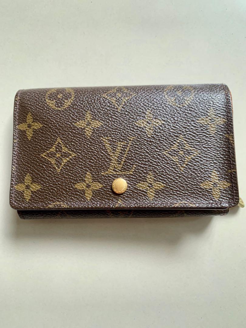 Preloved LV Short Wallet