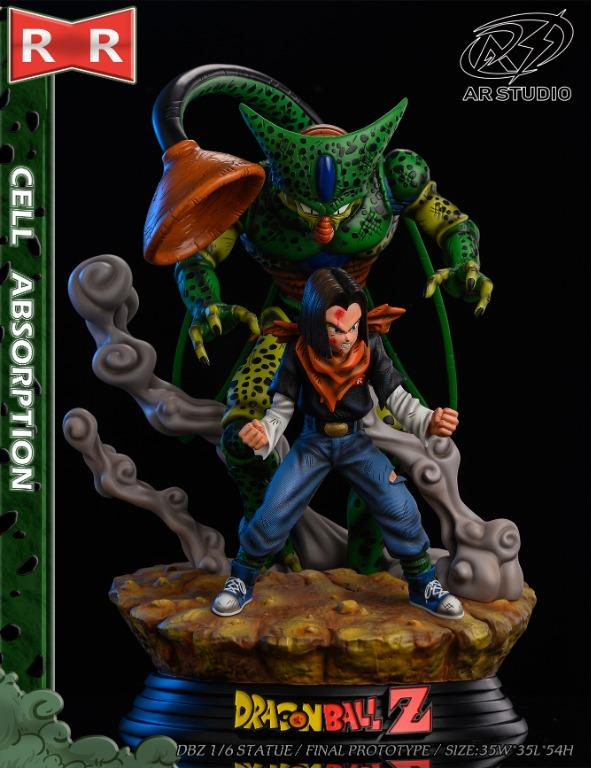 [PRE-ORDER]DRAGON BALL: CELL ABSORPTION STATUE FIGURE