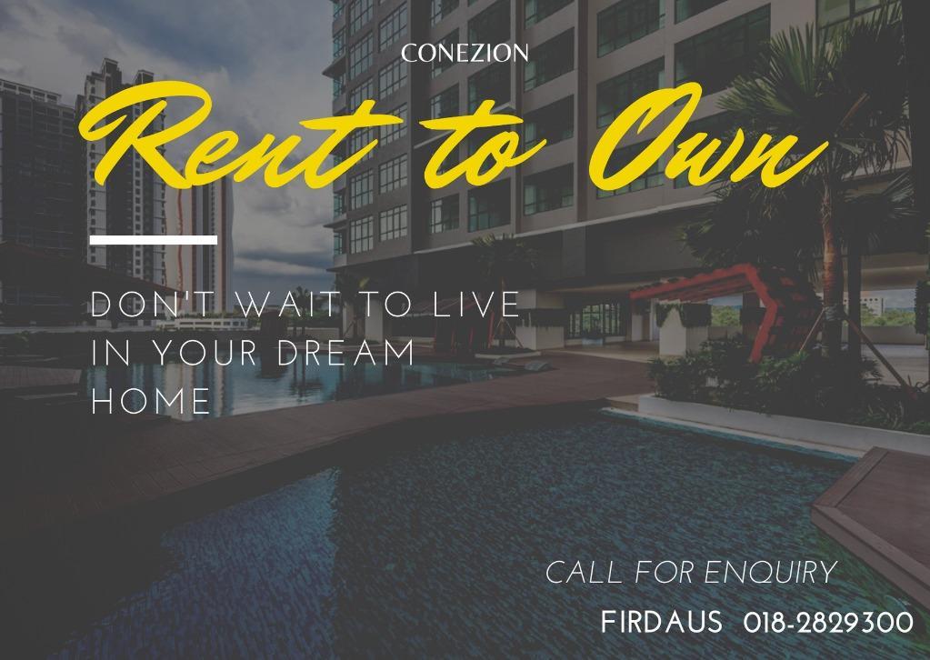Promosi Skim Rent To Own Conezion Putrajaya Property Rentals On Carousell