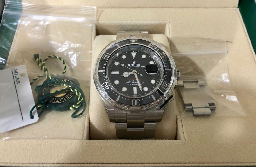 Rolex 126600 Sea-Dweller 43mm 50th anniversary MK1 Dial