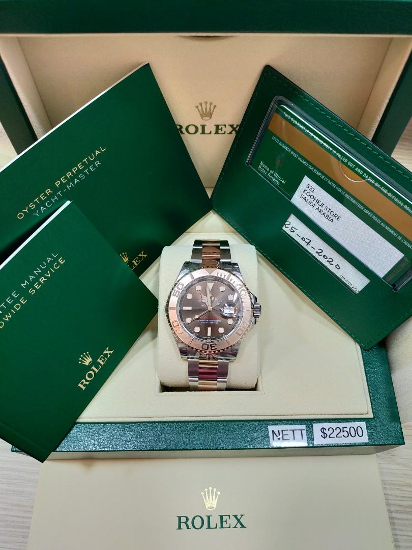 ROLEX 126621 YACHTMASTER YEAR 7/2020(UNWORN)(SERANGOON BRANCH)