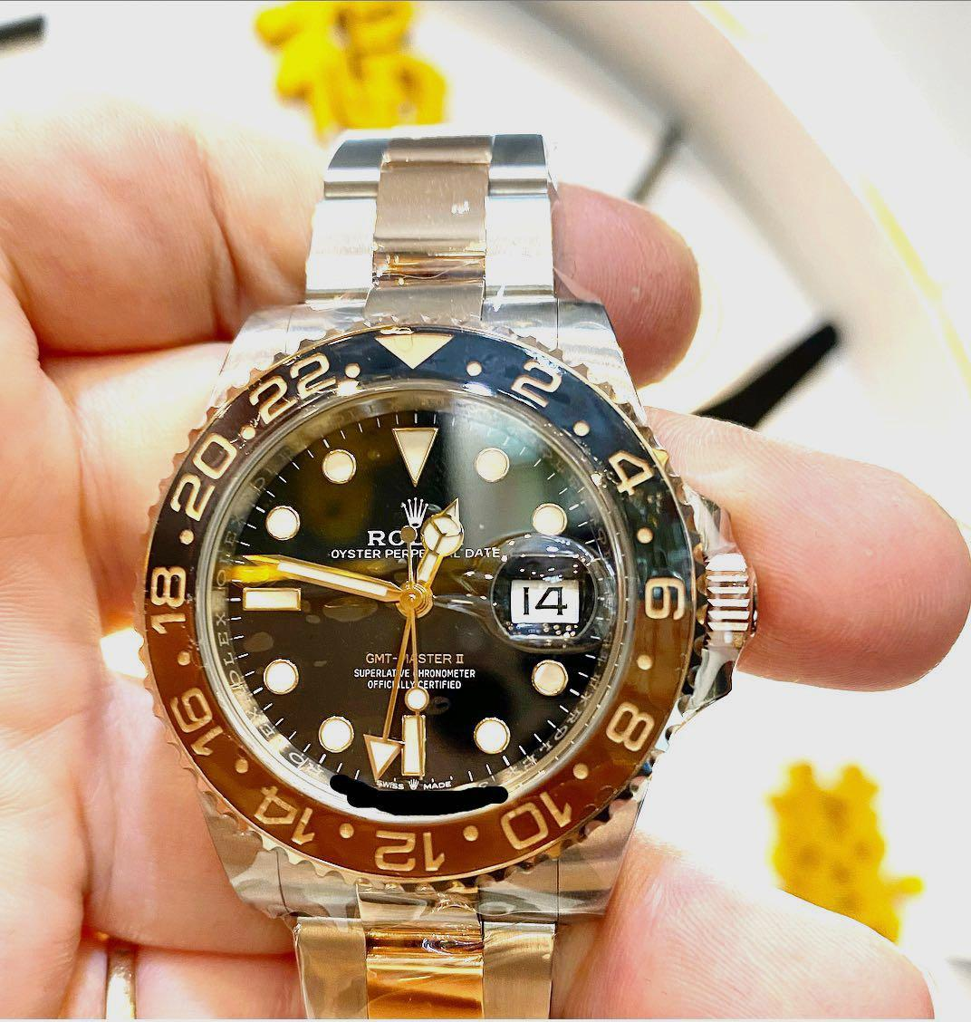 Rolex 126711chnr Gmt2 rootbeer