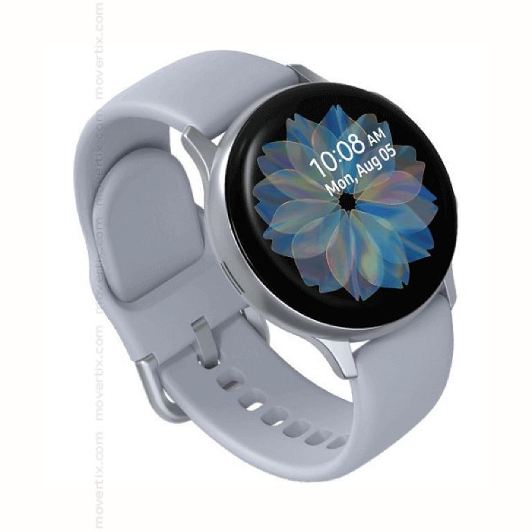 Samsung Galaxy Watch Active2 44mm Smart Watch - Cloud Silver