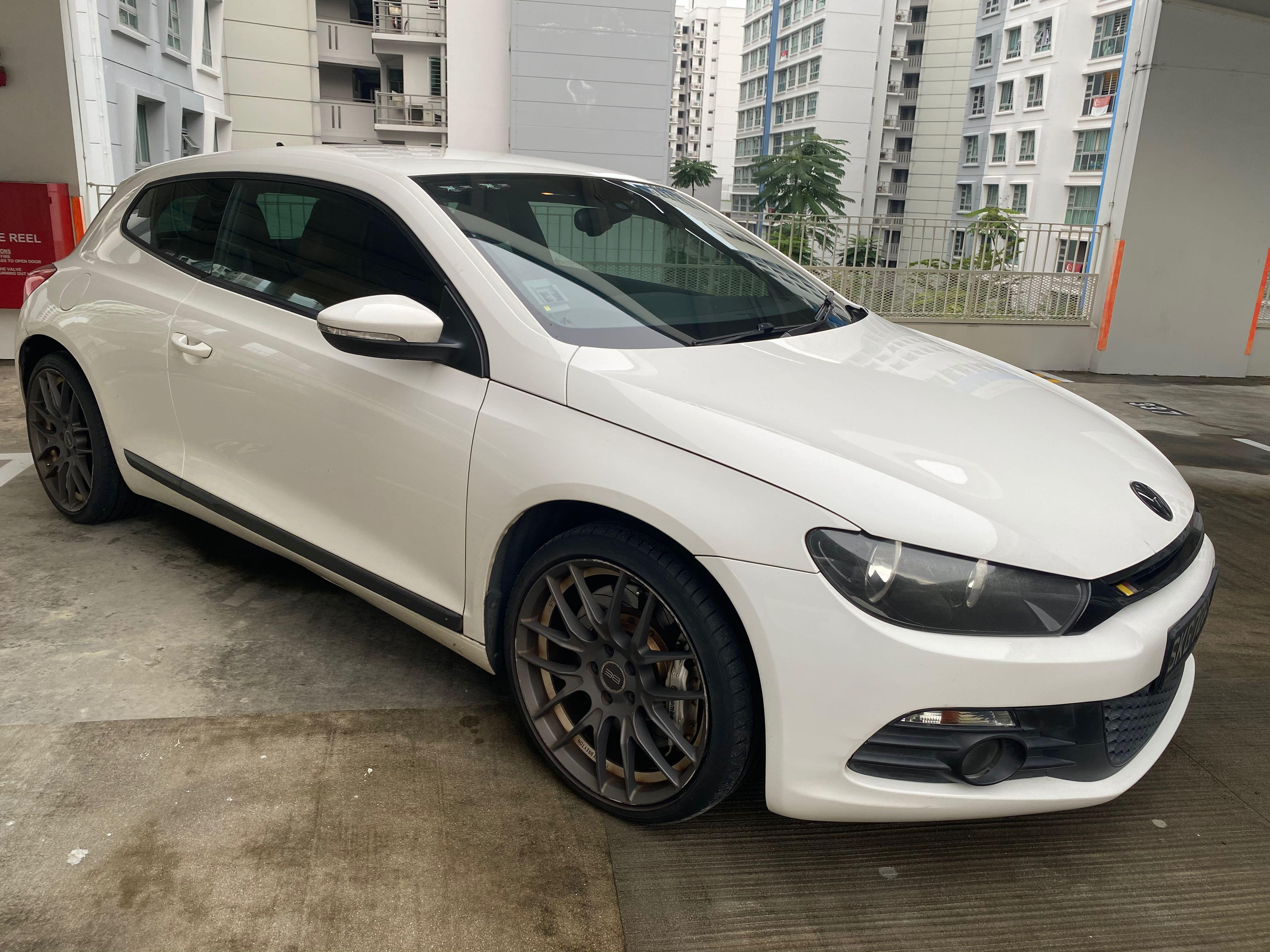 Scirocco 1.4 T for rent