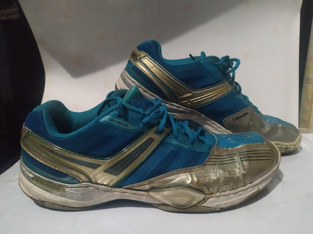 Sepatu Badminton  Victor SH-A850. Size 43. Kondisi apa adanya