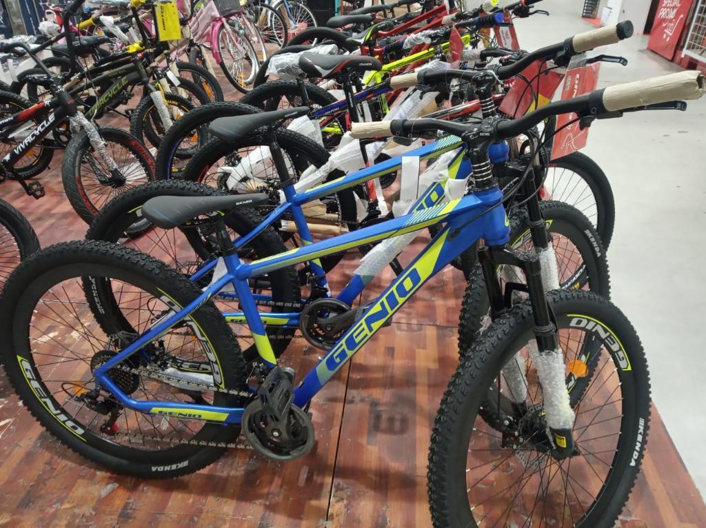 Sepeda Genio MTB Seri M34 /27 5 bisa dicicil dengan angsuran ringan