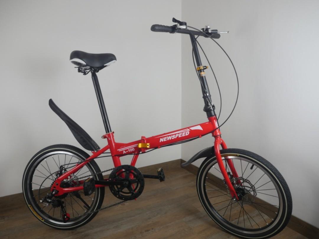 Sepeda Lipat Baru  merk NEW SPEED