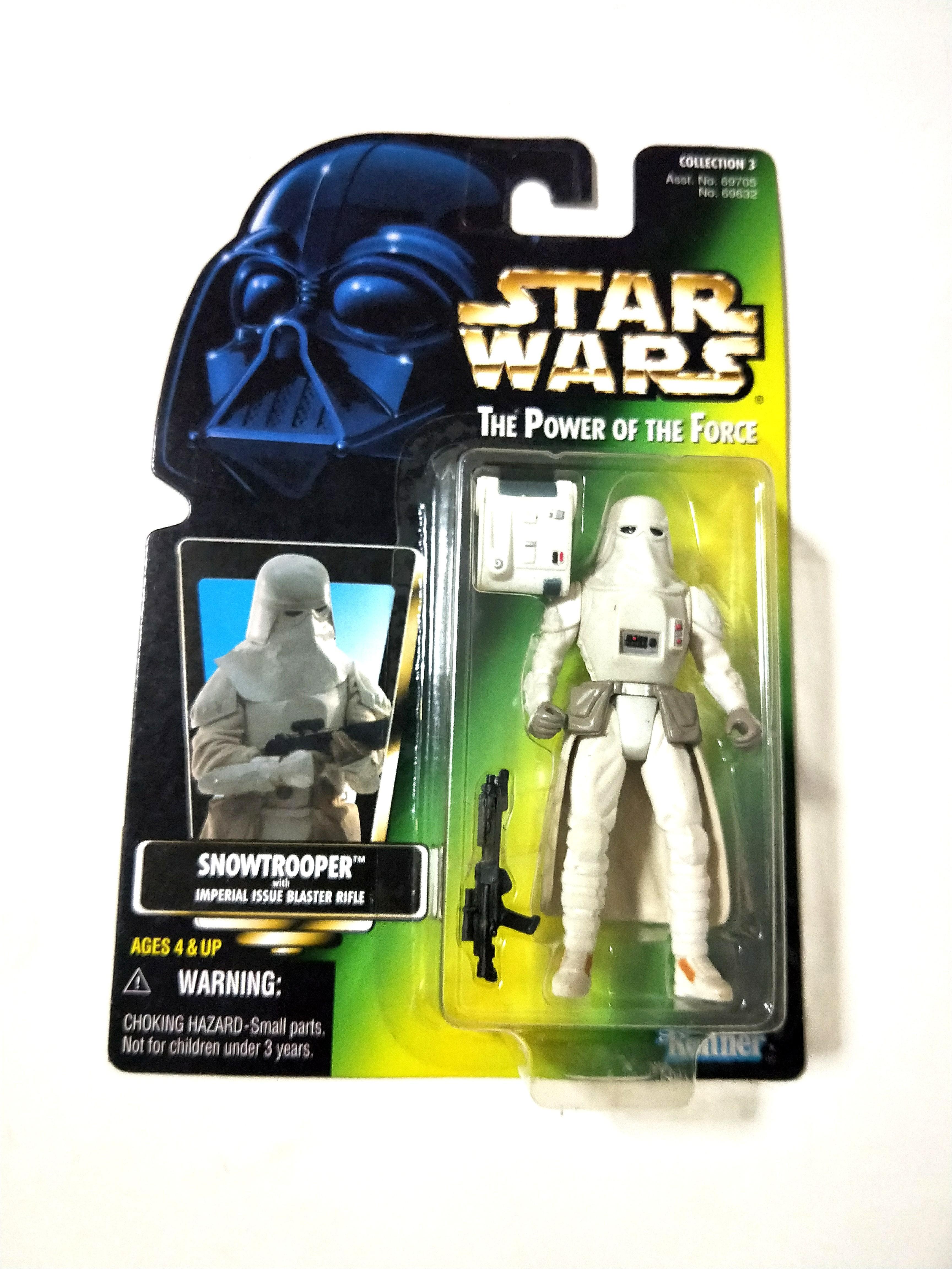 "Death Star Gunner POTF 3.75/"" Star Wars Power of the Force"