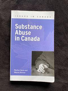 Substance Abuse in Canada