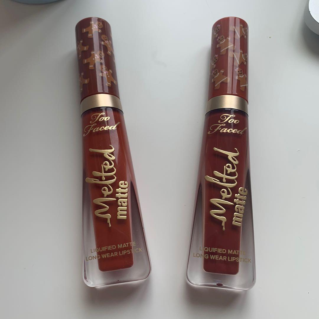 Too faced ginger lipstick