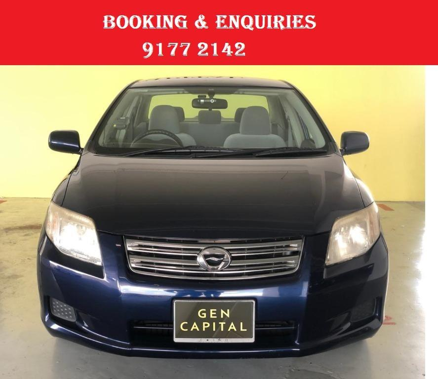 Toyota Axio. Place a partial deposit for Better rates.$500 deposit only. Whatsapp 9177 2142 to reserve.Cheap Car Rental. Cheap Car. Budget car.
