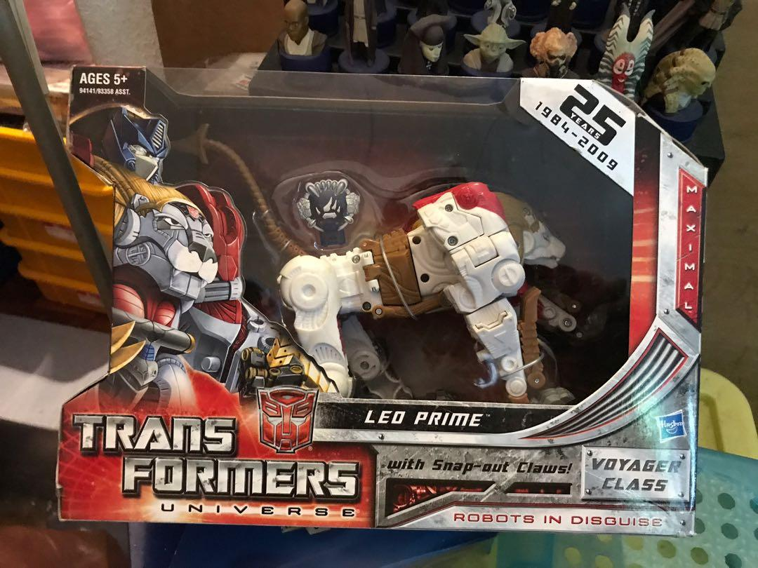 Hasbro 6 Inch Size Brand New Transformers RID Figures Deluxe Size Sealed