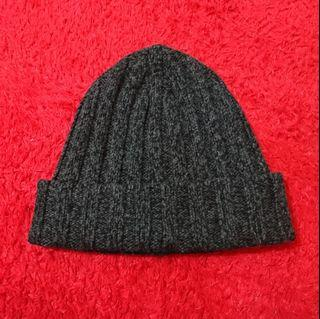 Uniqlo Heattech Knitted Cap Kupluk Beanie #carousell99