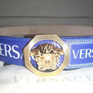 Versace 90s logo belt