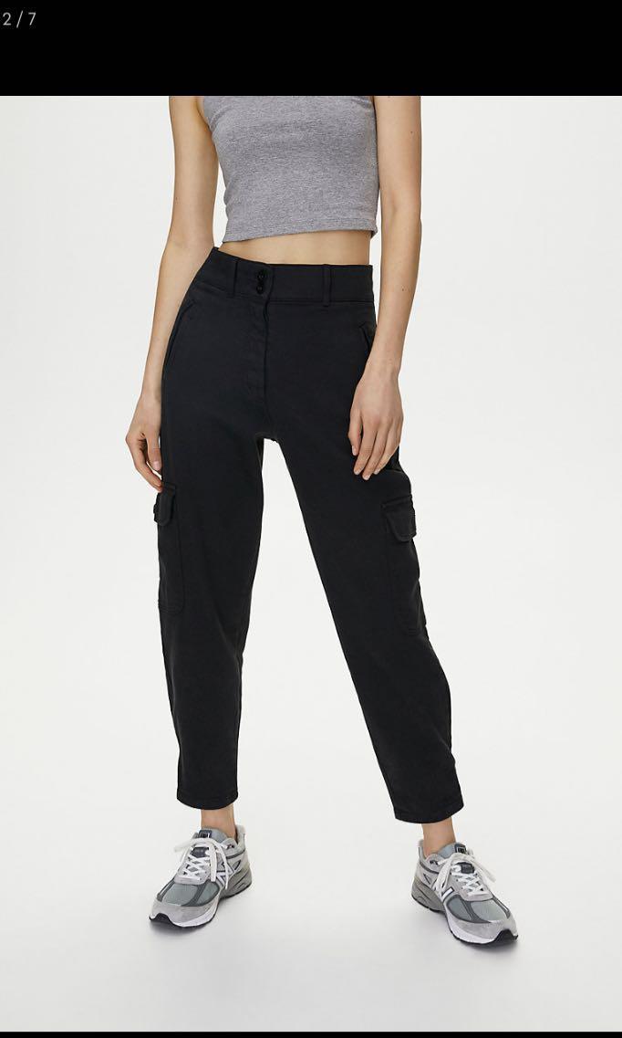 Wilfred free mila modern cargo pants BLACK size 6