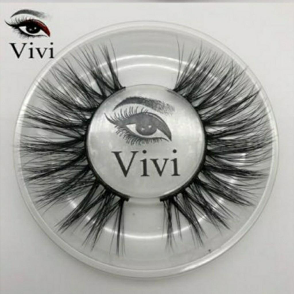 100% 3D Mink Eyelashes (Vivi) with Case