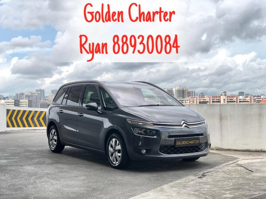 15/09 Call 8893 0084 Ryan Citroen C4 Picasso Diesel Available NOW ! Call Us To Find Out More ! Cheapest In The Market ! Ready For Go-Jek Rebate, Grab, Ryde, PHV, Personal Usage ! Come Now Don't Wait Any Longer ! Rent Car ! Car Rental ! Cheap Rental Car !