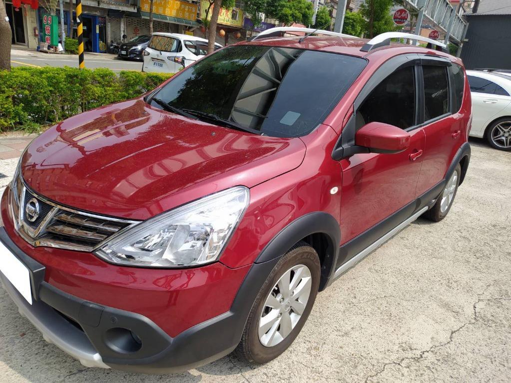 2017年Nissan日產Livina樂薇娜 旗艦 紅3