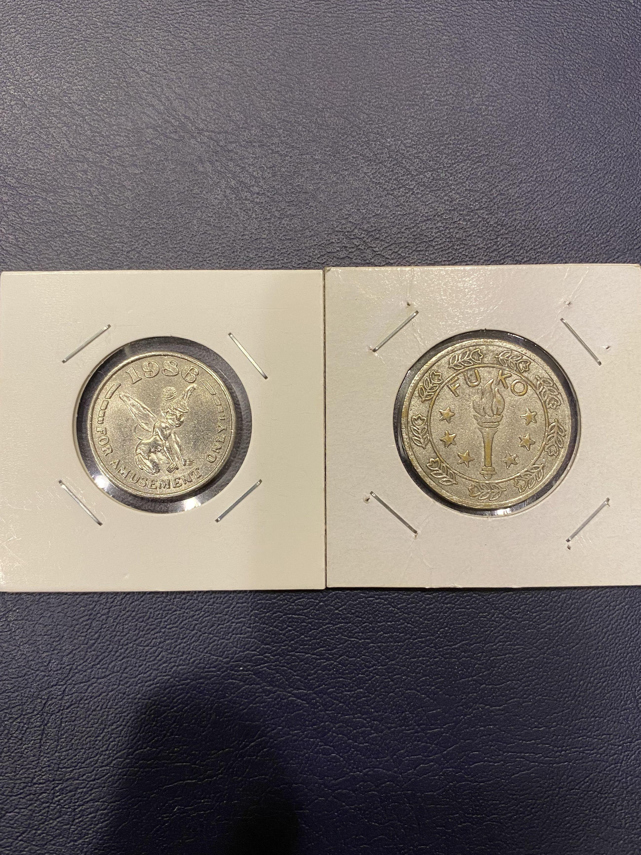 代幣*2顆(1顆逆背)