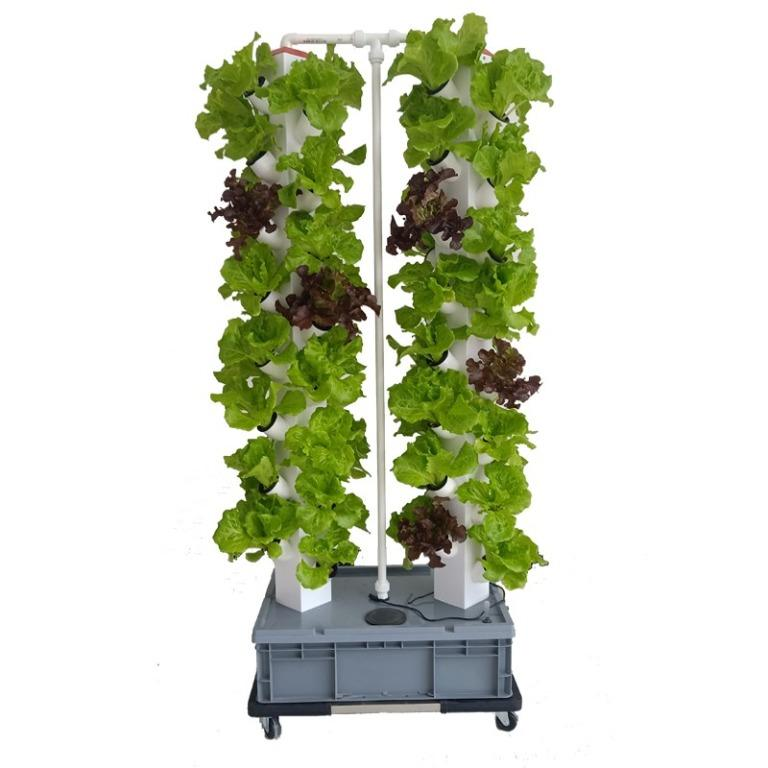 64 pots hydroponics vertical tower system for home