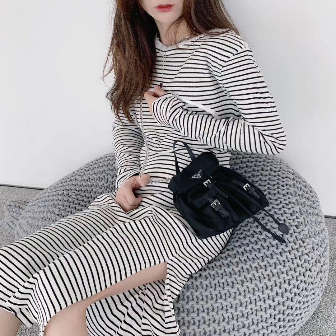韓國🇰🇷現貨在台條紋連身裙
