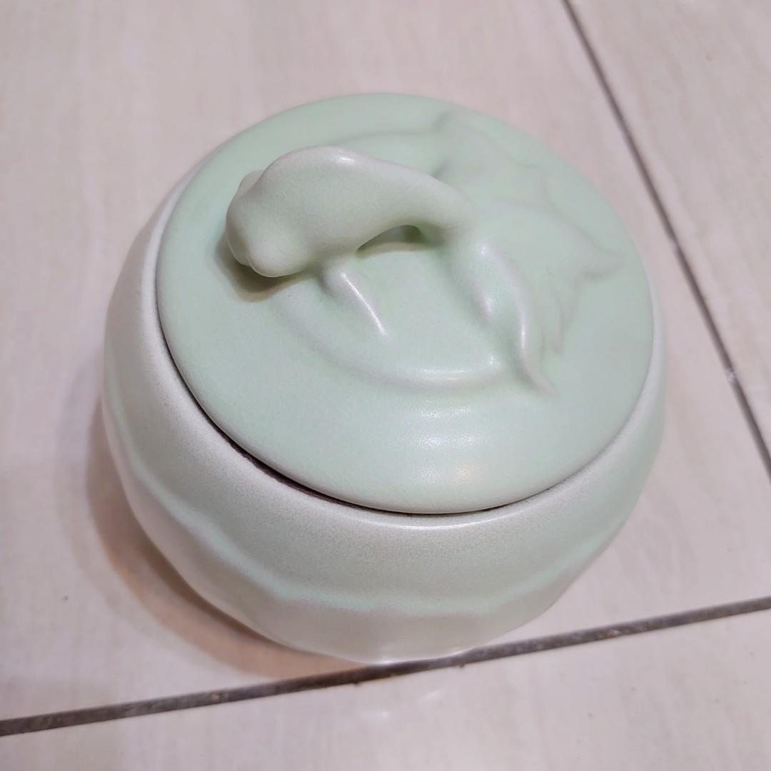青瓷茶葉罐密封罐