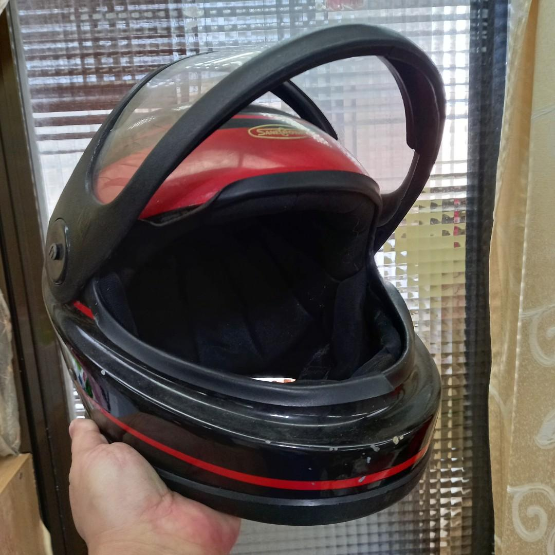 通過驗證全罩式安全帽 扣環鐵質有生鏽不介意者再下單購買