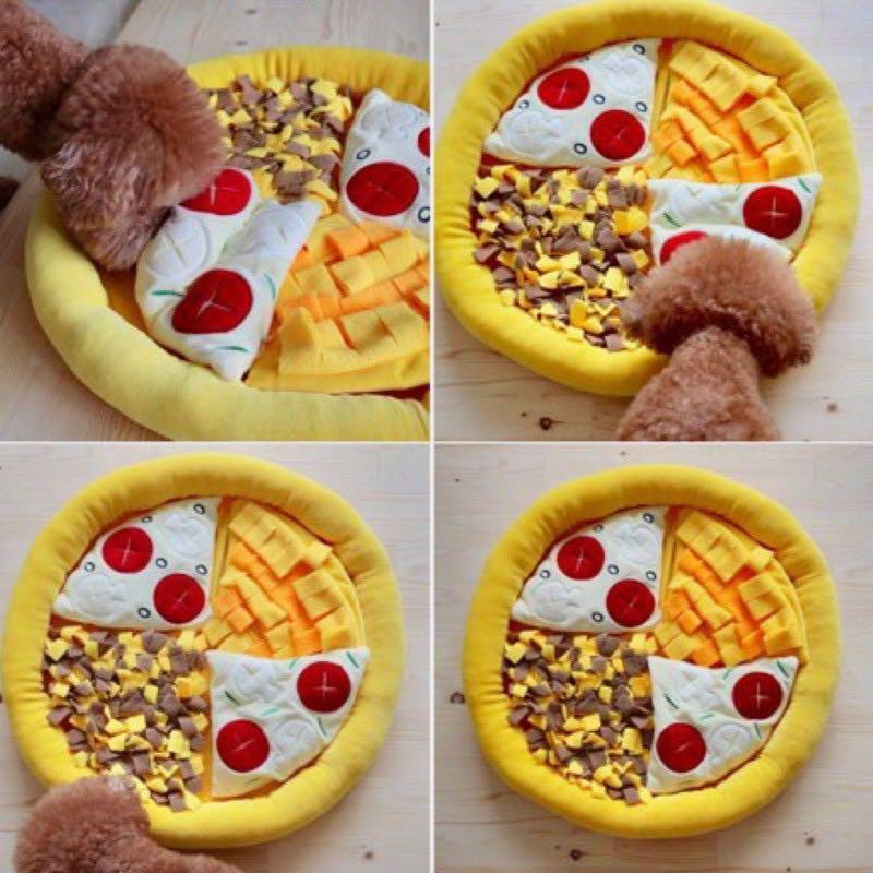 寵物嗅聞玩具 磨牙耐咬披薩