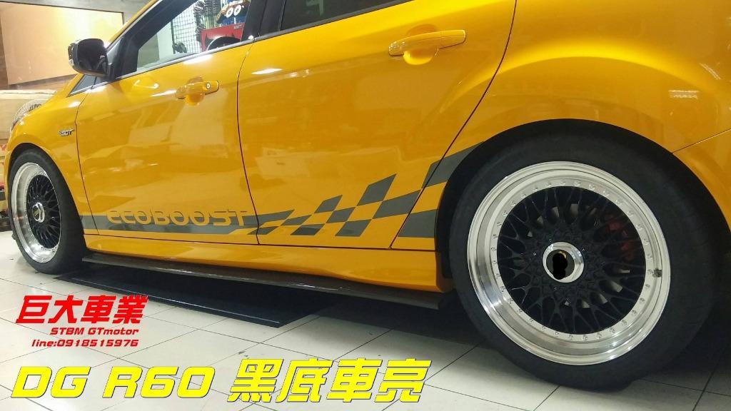 巨大車材 DG鋁圈R60類BBS 18*8J ET35 5*108 VOLVO專用 售價$5200/顆
