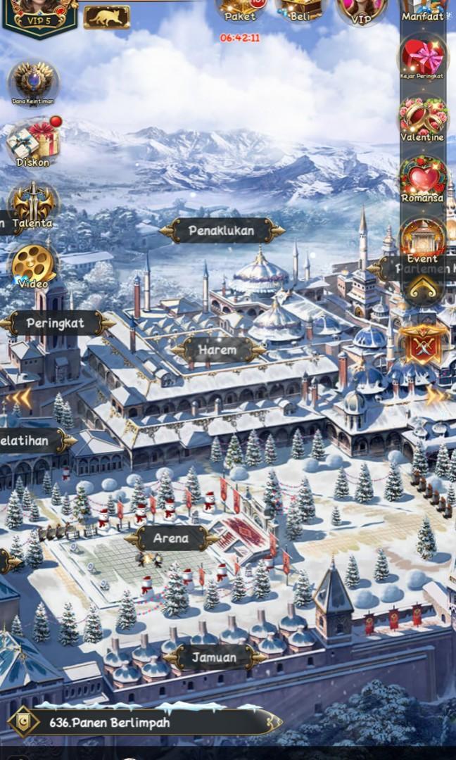 Akun Game of Sultans VIP 5 Server Asia 371