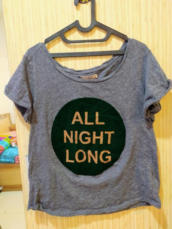 All Night Long Pull and Bear Top