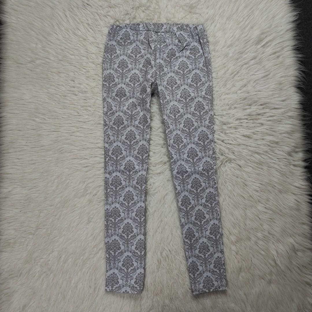 Ankle pants cotton stretch