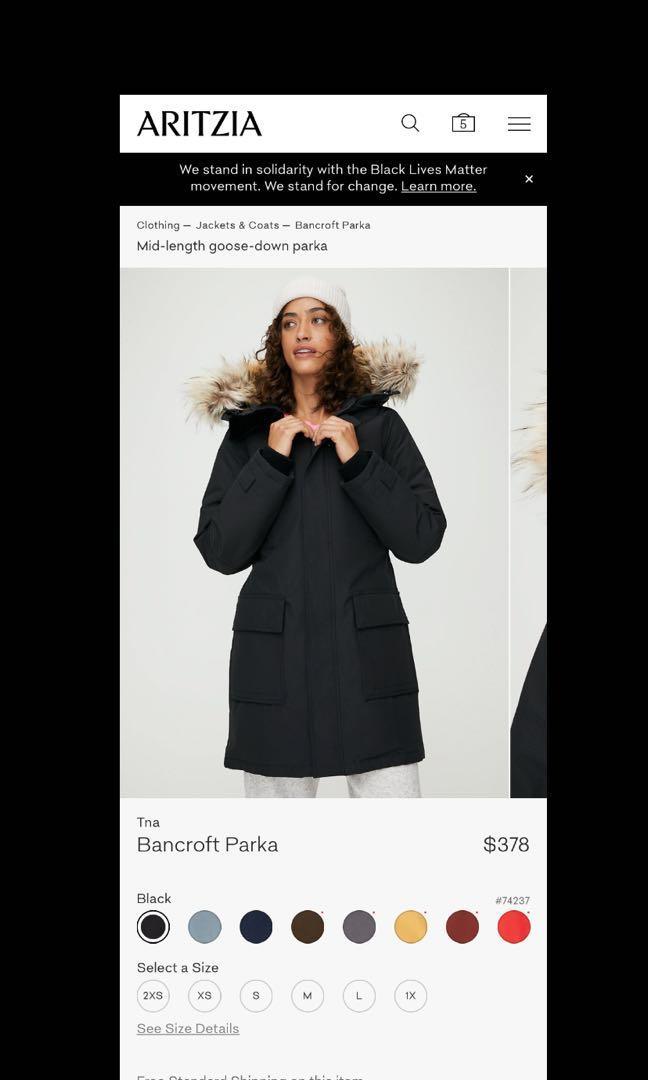 Aritzia Bancroft Jacket