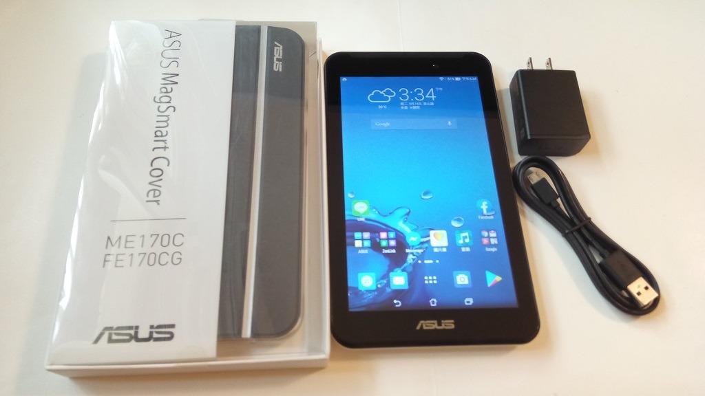 <二手良品功能正常>白ASUS MeMO Pad 7 ME70CX K01A 7吋平板 安卓4.4 功能正常只要1000