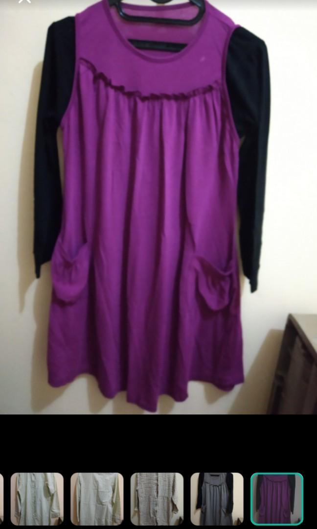 Atasan ungu