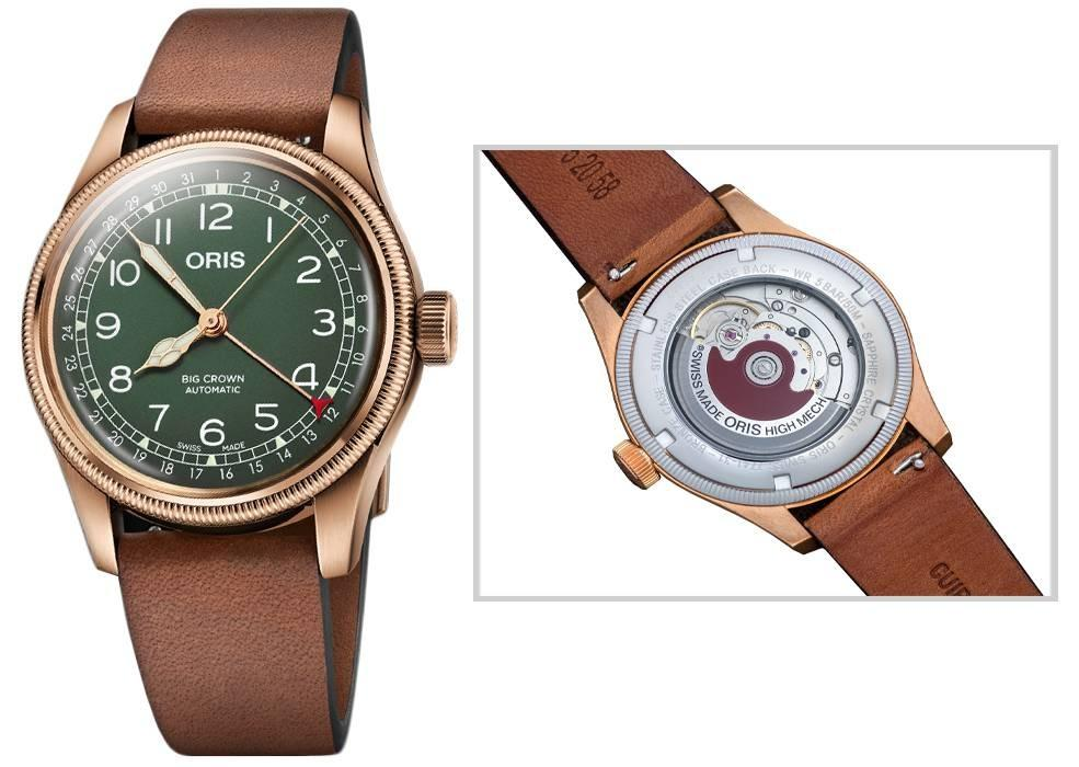 Authentic - ORIS Mod. BIG CROWN POINTER DATE BRONZE 80th ANNIVERSARY EDITION