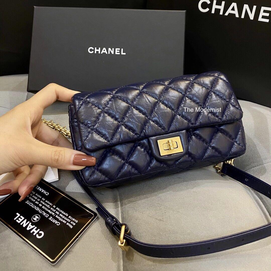 Authentic Chanel 2.55 Reissue Mini Belt Bag