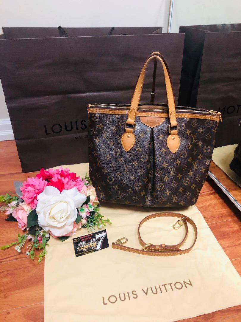Authentic LV Palermo MM