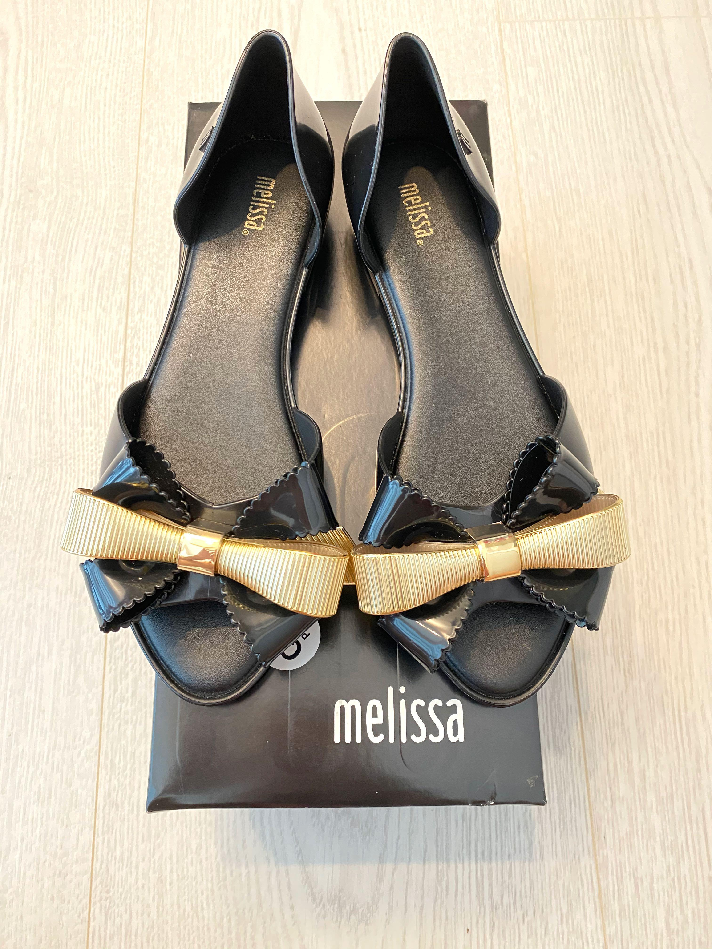 Authentic Melissa III Black/Gold