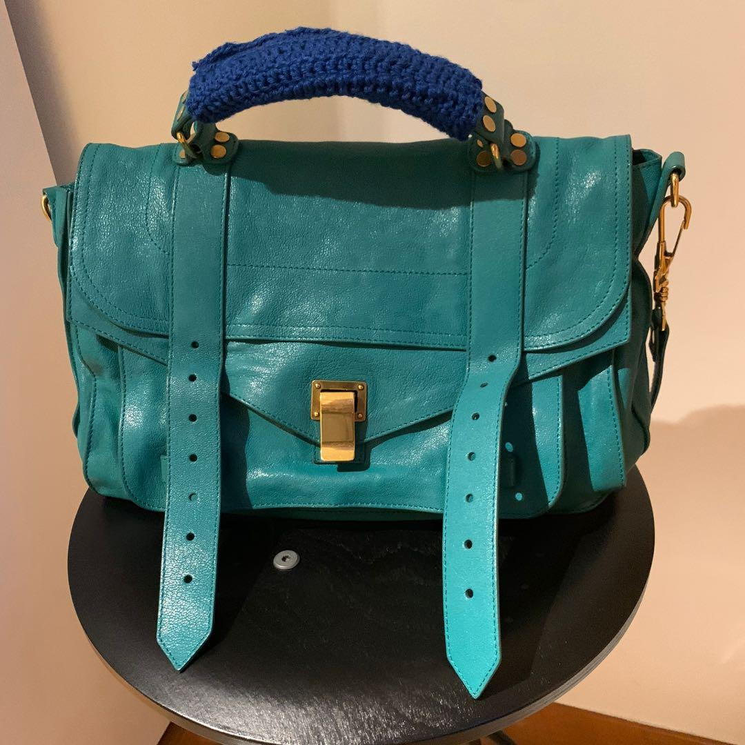 Authentic Proenza PS1 Turquoise Bag