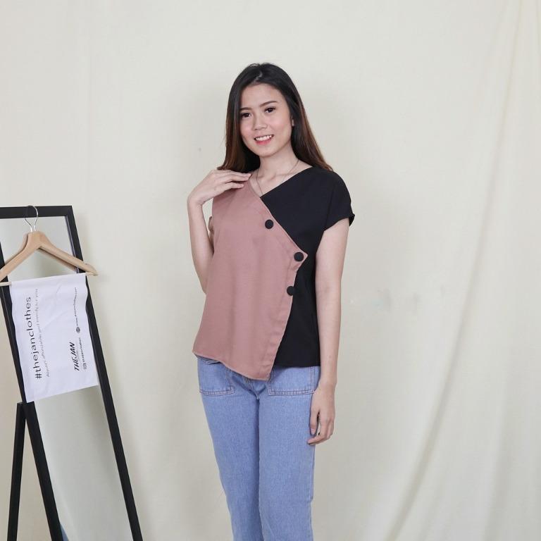 Baju Atasan Blouse Wanita Renaya Top