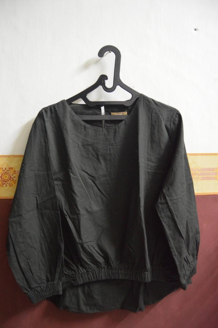 Baju Lengan Panjang Hijau Army