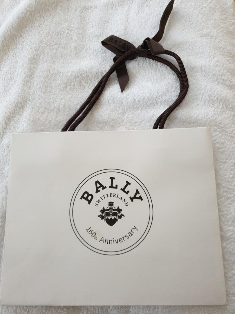 Bally Paper Bag 160th Anniversary