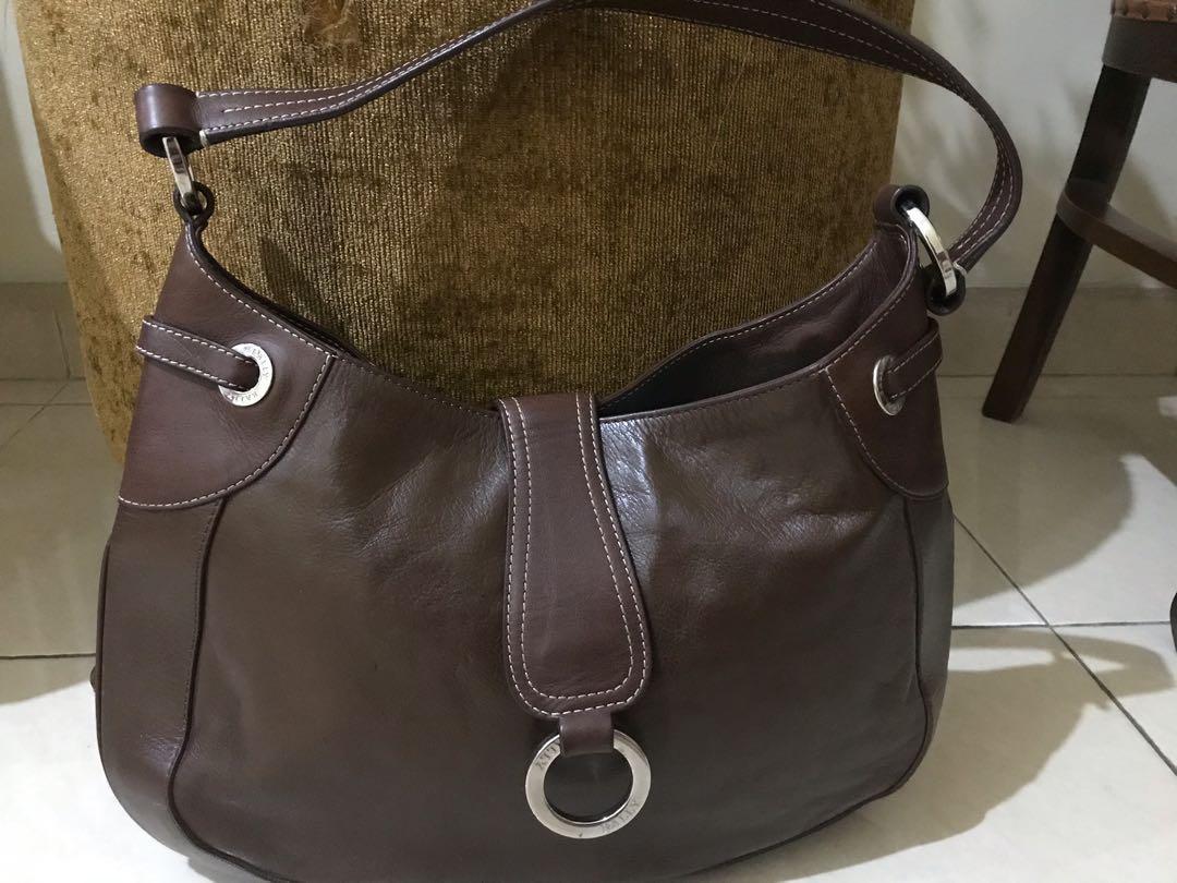 Bally vintage leather