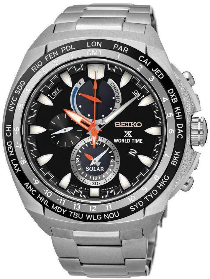 Brand New Seiko Prospex Solar World Time Chronograph SSC487P1