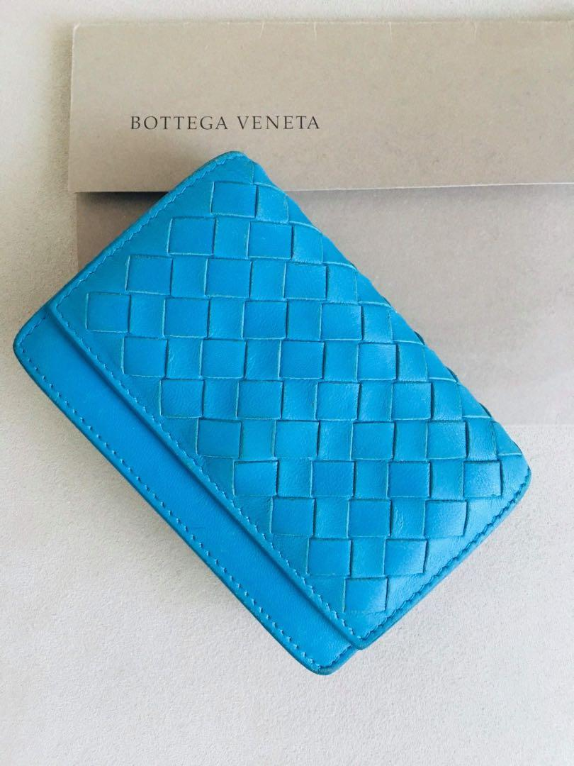 Bottega Veneta Intreciatto Card Wallet